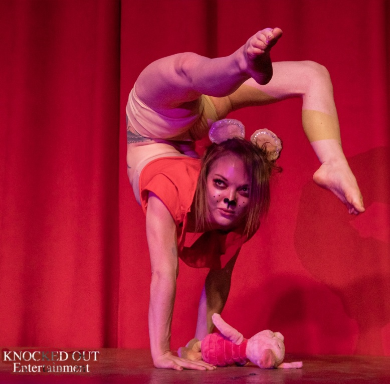 Plushies, furries, cosplay, winnie the pooh, contortion, burlesque, cabaret show, plushie