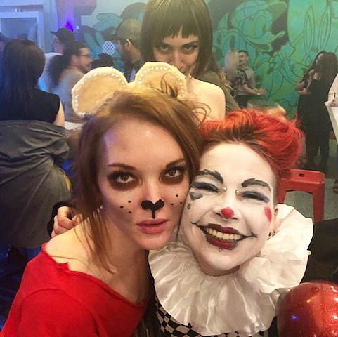 Backstage, Cluster Cluck Cabaret, Can Can Wonderland